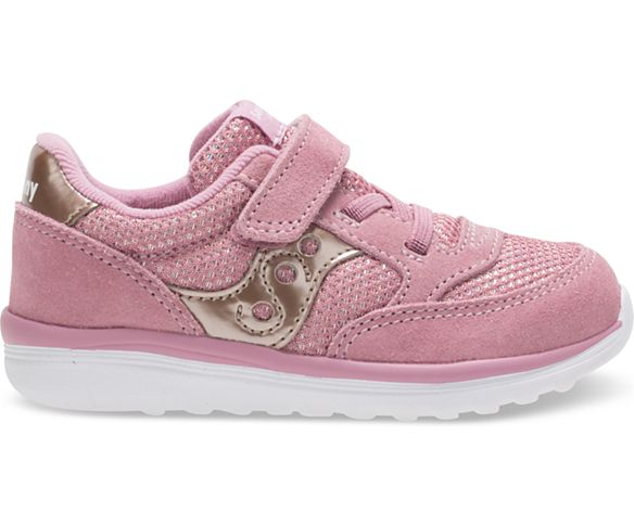 Baby Jazz Lite Sneaker, Blush Metallic, dynamic
