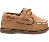 Authentic Original Crib Hook & Loop Boat Shoe, Sahara, dynamic