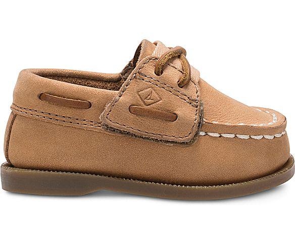 Authentic Original Crib Hook & Loop Boat Shoe, Sahara, dynamic