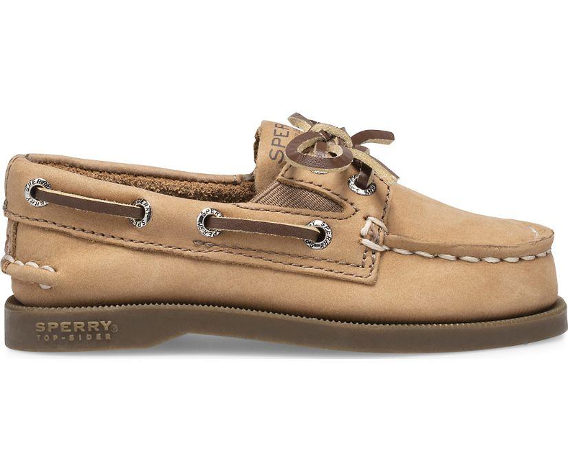Authentic Original Slip On Boat Shoe, Sahara, dynamic