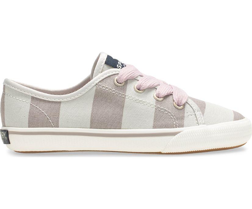 Lounge LTT Sneaker, Grey / White Stripe, dynamic