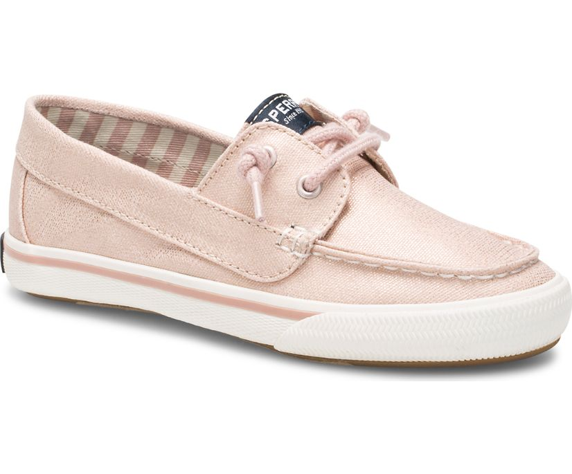 Lounge Away Sneaker, Blush Sparkle, dynamic