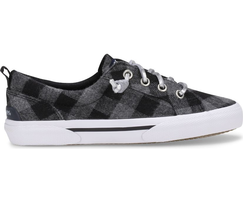 Pier Wave Sneaker, Black/Grey, dynamic