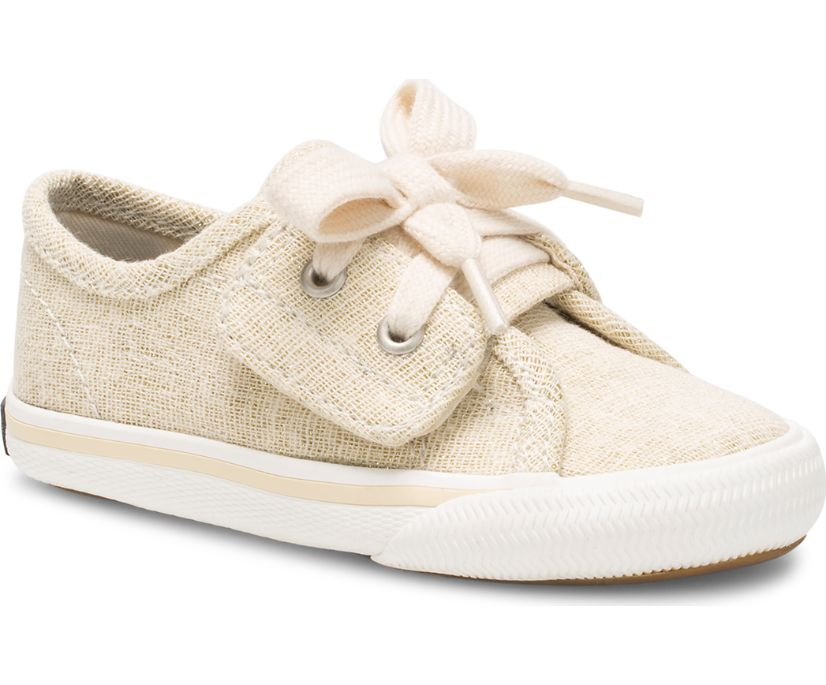 Lounge LTT Junior Sneaker, Gold Sparkle, dynamic