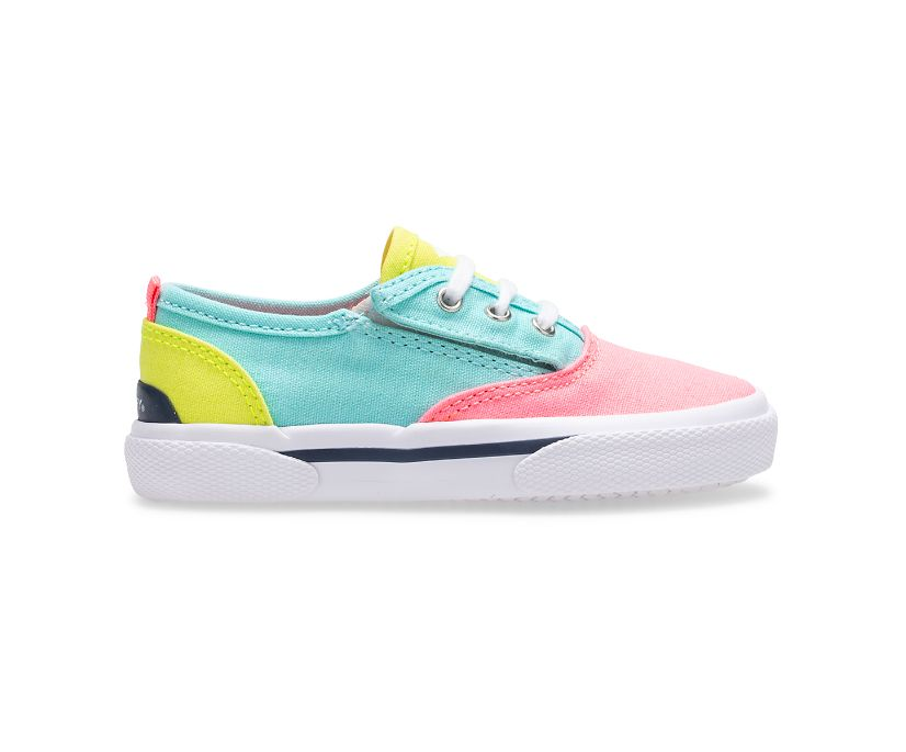 Pier Wave CVO Junior Washable Sneaker, Neon, dynamic