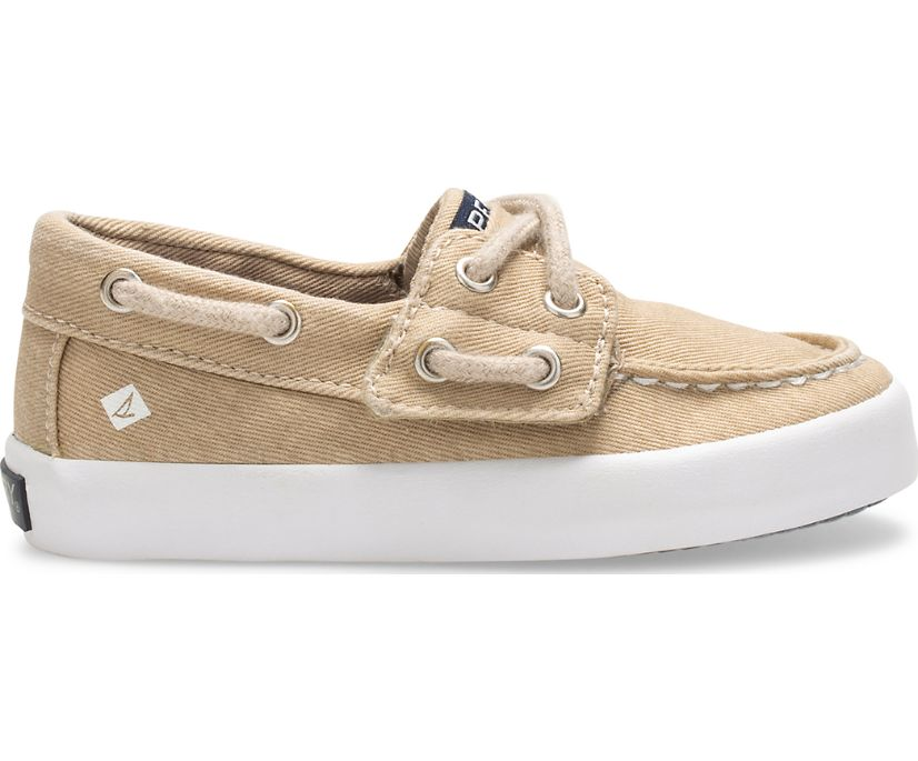 Tuck Junior Sneaker, Saltwash Khaki, dynamic