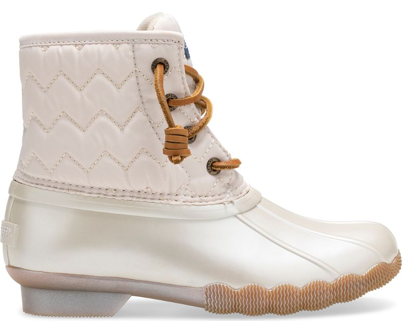 Saltwater Duck Boot, Pearlized Ivory, dynamic