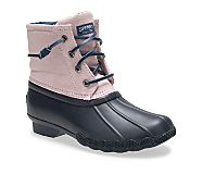 Saltwater Boot, Lilac/Navy, dynamic