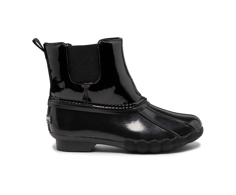 Saltwater Chelsea Jr Boot, Black, dynamic