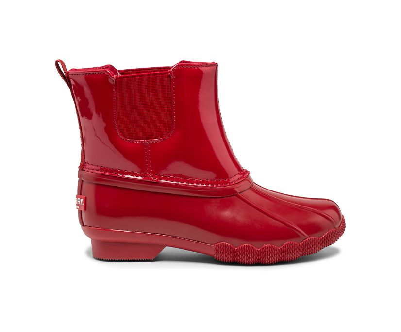 Saltwater Chelsea Jr Boot, Red, dynamic