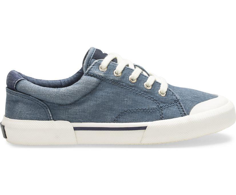 Striper II Retro Sneaker, Blue, dynamic