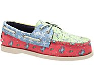 Sperry x vineyard vines Heritage Patchwork Authentic Original Boat Shoe, Multi, dynamic