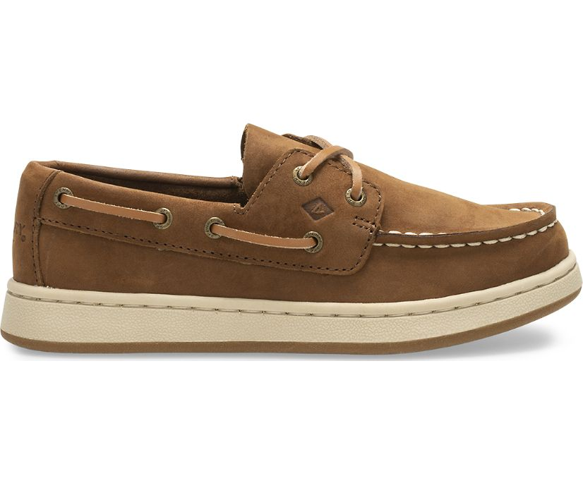 Sperry Cup II Boat Shoe, Brown, dynamic