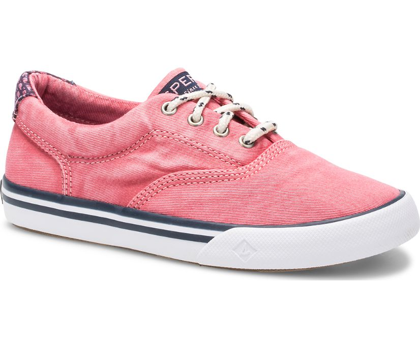 Striper II Sneaker, Red, dynamic