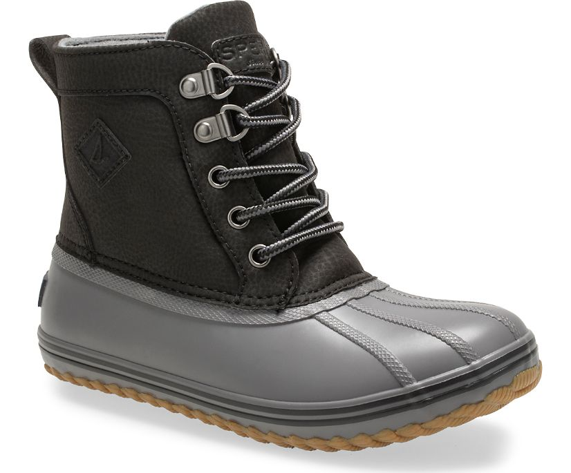 Bowline Boot, Black/Grey, dynamic