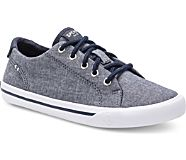 Striper II Sneaker, Dark Chambray, dynamic