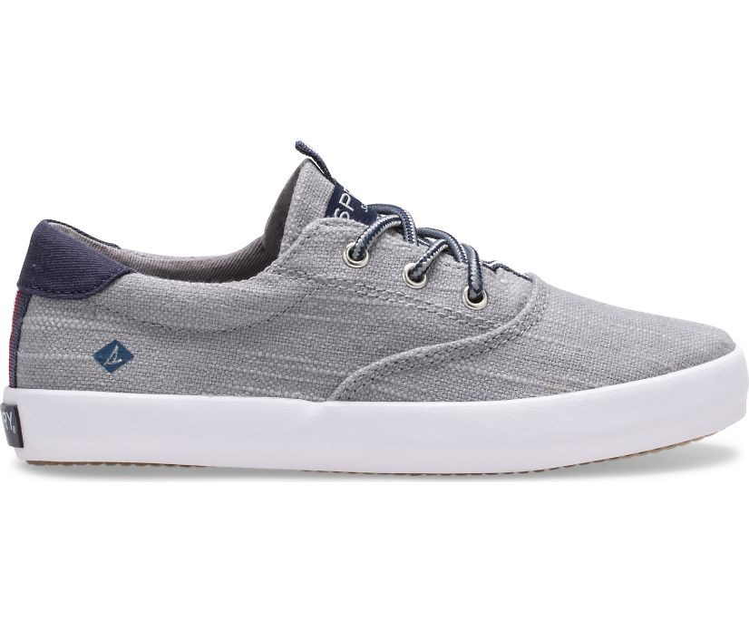 Spinnaker Washable Sneaker, Grey, dynamic