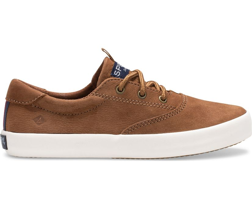 Spinnaker Washable Sneaker, Tan, dynamic