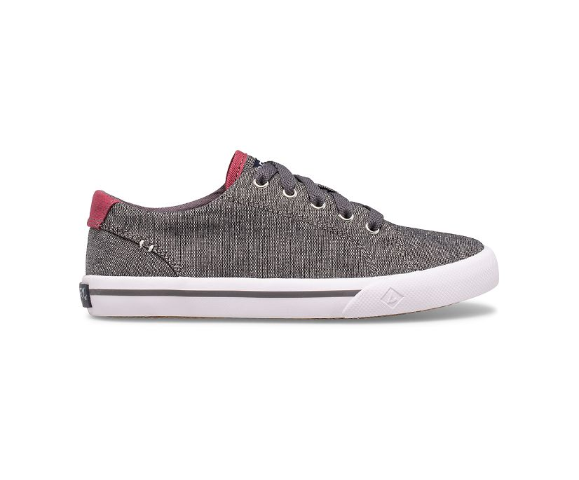 Striper II LTT Sneaker, Black/Burgundy, dynamic