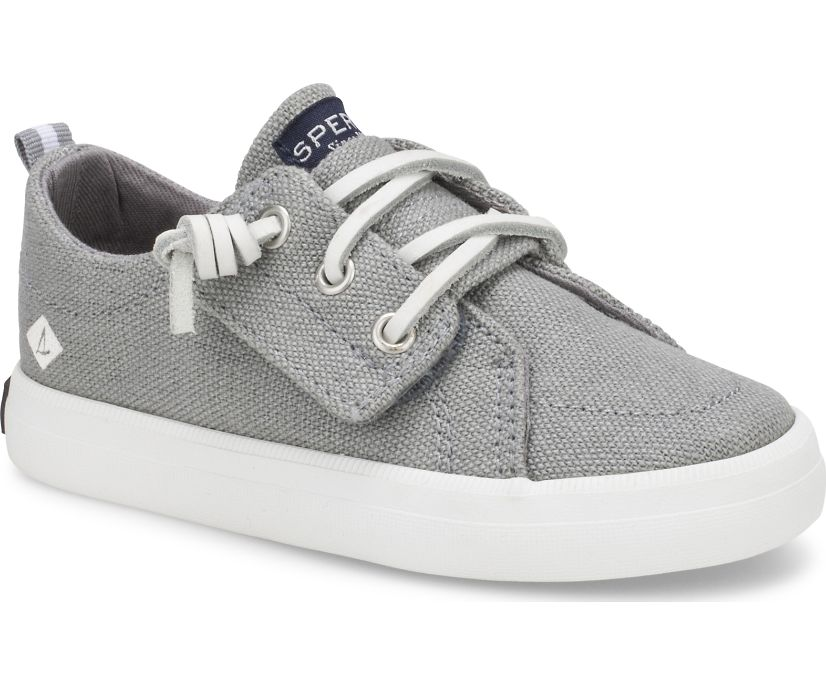 Crest Vibe Junior Sneaker, Grey, dynamic