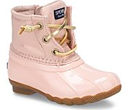 Saltwater Sparkle Duck Boot, Blush Shimmer, dynamic