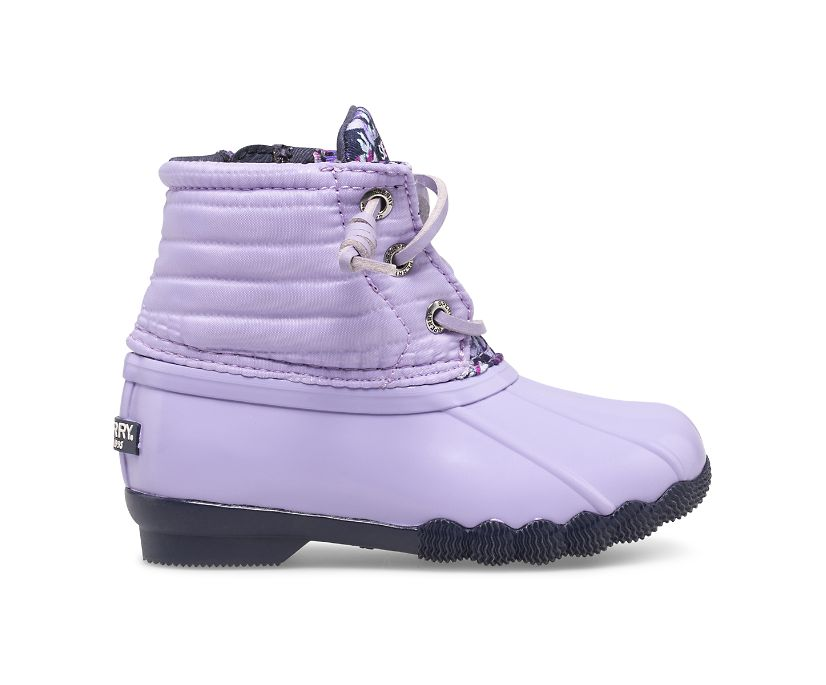 Saltwater Duck Boot, Lilac, dynamic