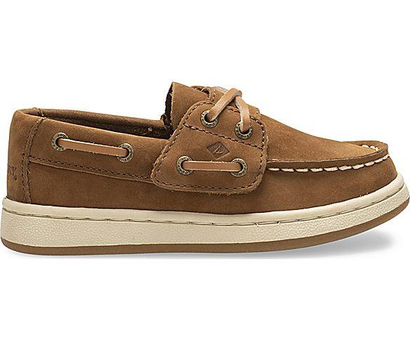 Sperry Cup II Junior Boat Shoe, Brown, dynamic