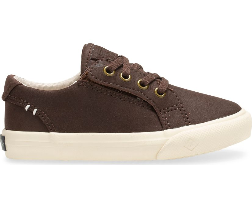 Striper II Junior Sneaker, Kahlua, dynamic