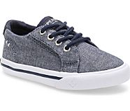 Striper II Jr. Sneaker, Dark Chambray, dynamic