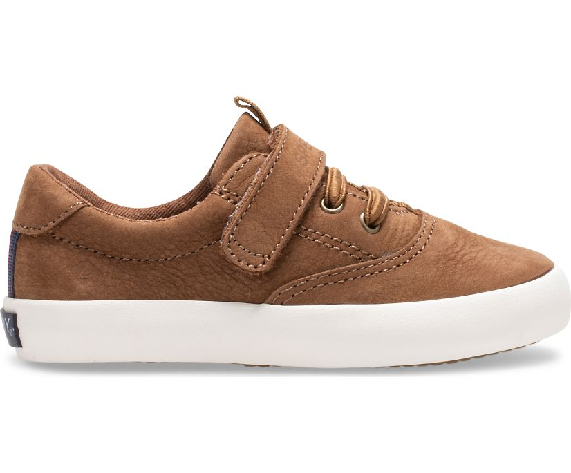Spinnaker Washable Junior Sneaker, Tan, dynamic