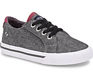 Striper II LTT Junior Sneaker, Black/Burgundy, dynamic