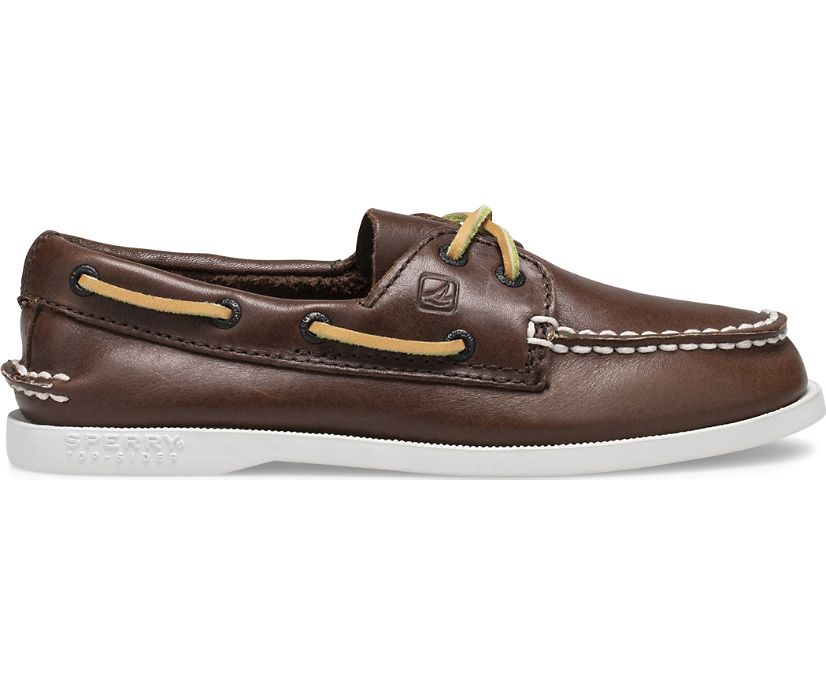 Authentic Original Boat Shoe, Brown, dynamic