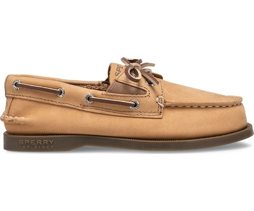 Authentic Original Slip On Boat Shoe, Sahara, dynamic