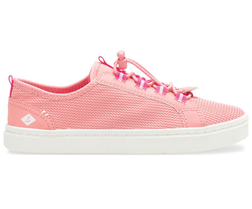 Abyss Washable Sneaker, Coral, dynamic