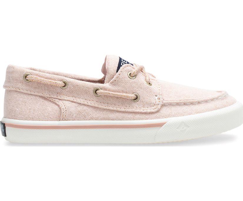 Girls Bahama Sneaker, Rose Gold Shimmer, dynamic
