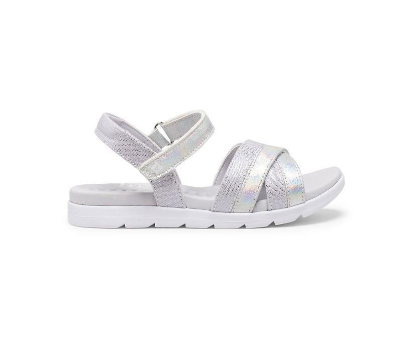 Leeway PLUSHWAVE Sandal, Silver, dynamic