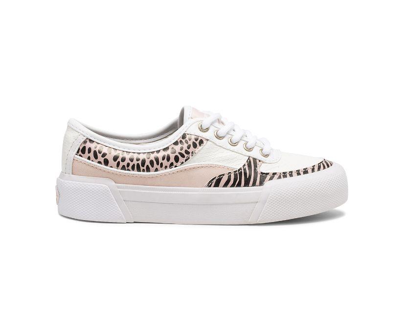 Soletide Sneaker, White/Blush, dynamic