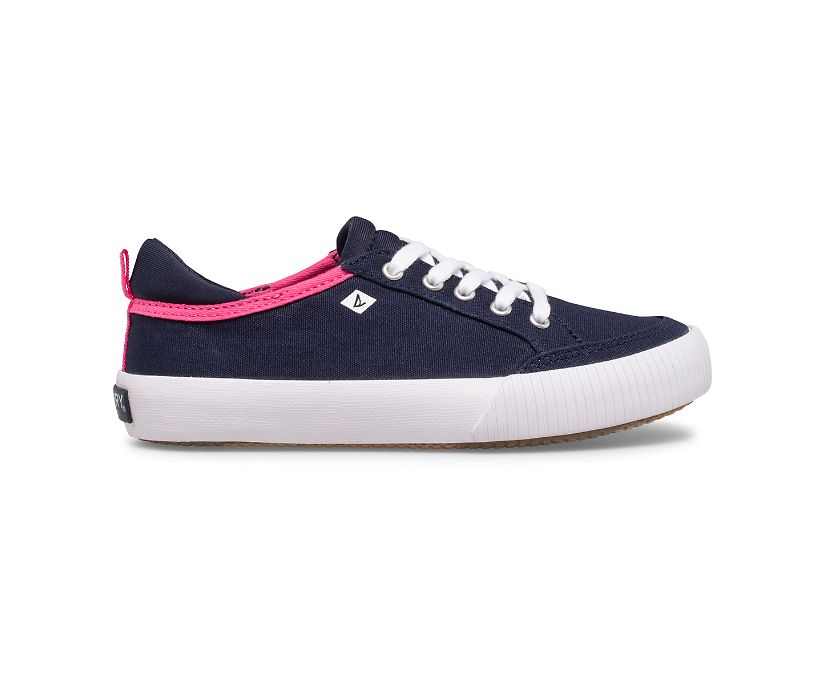 Covetide Washable Sneaker, Navy, dynamic