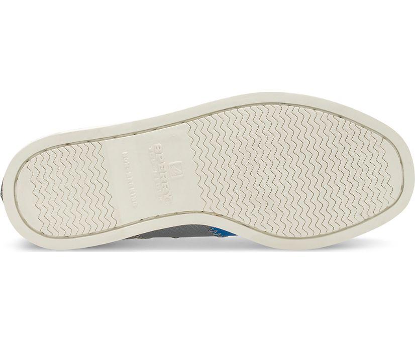 Authentic Original BIONIC® Boat Shoe, Grey/Blue, dynamic