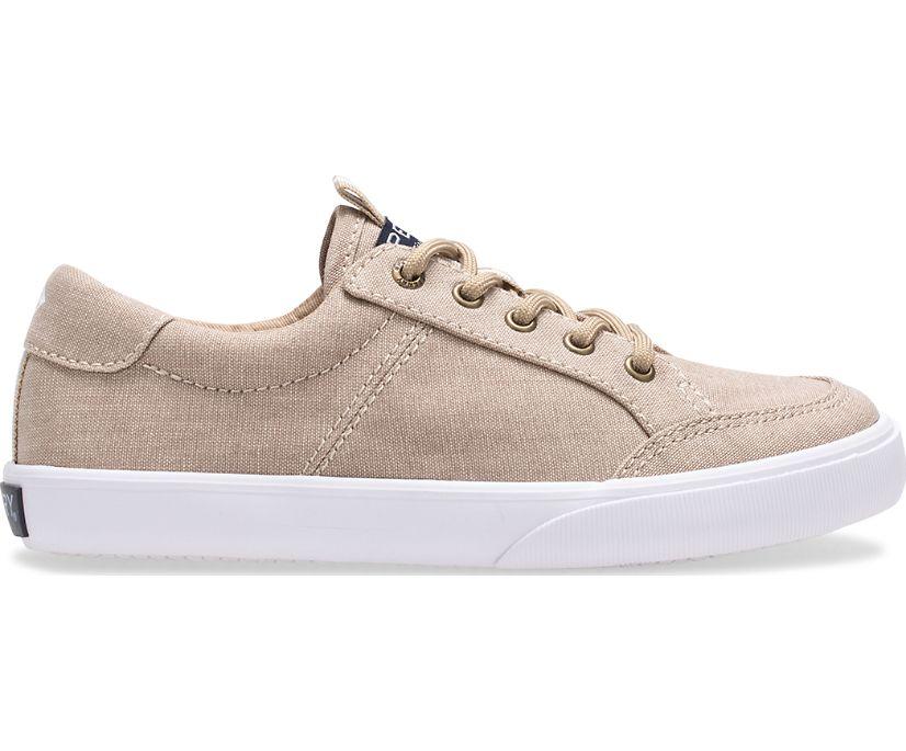 Trysail Junior Sneaker, Khaki Chambray, dynamic