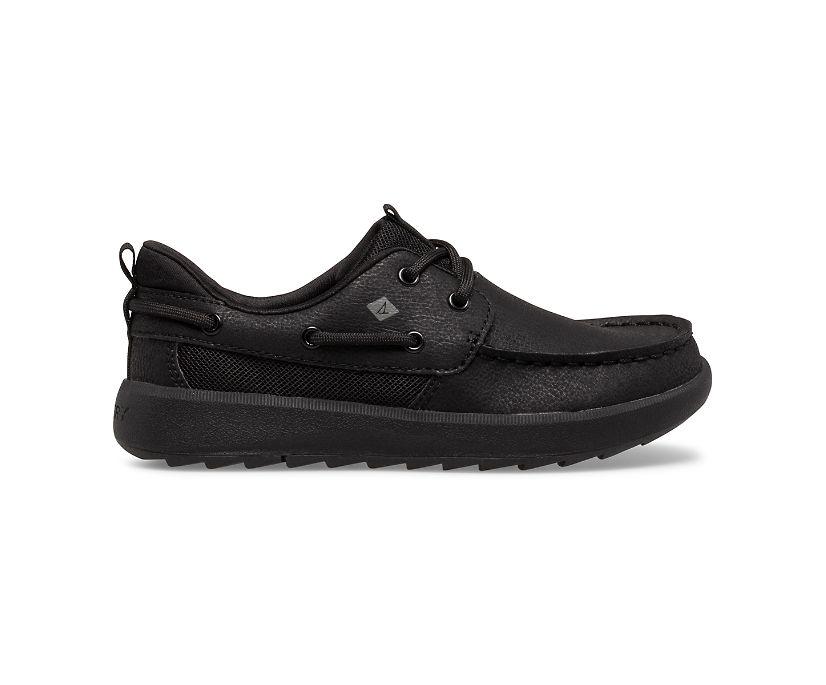 Fairwater PLUSHWAVE Boat Shoe, Black, dynamic