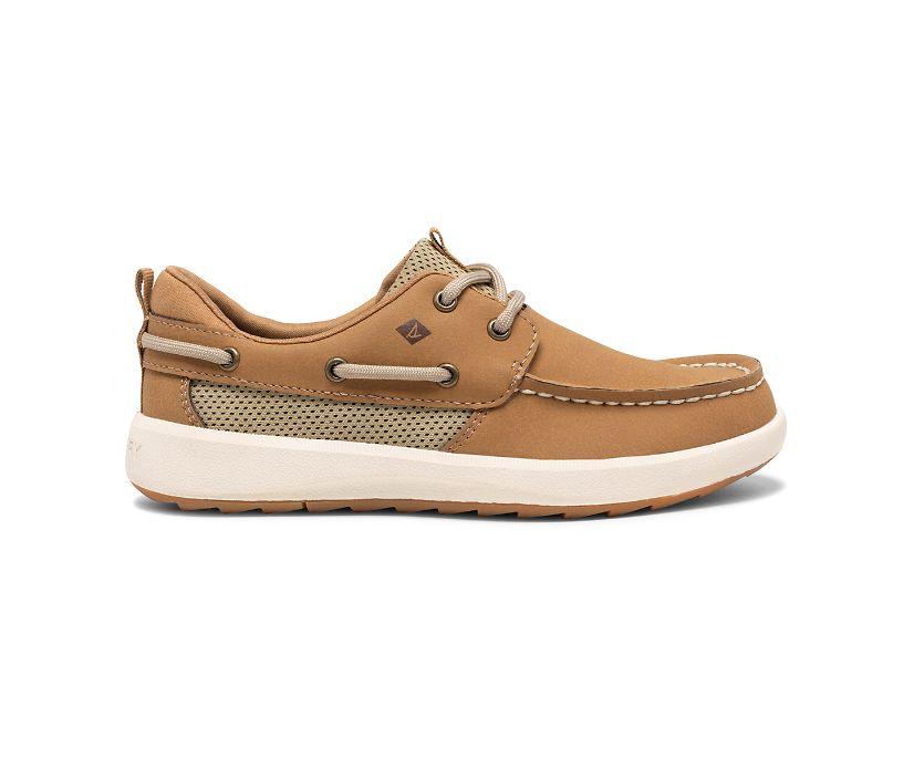 Fairwater PLUSHWAVE Boat Shoe, Tan, dynamic