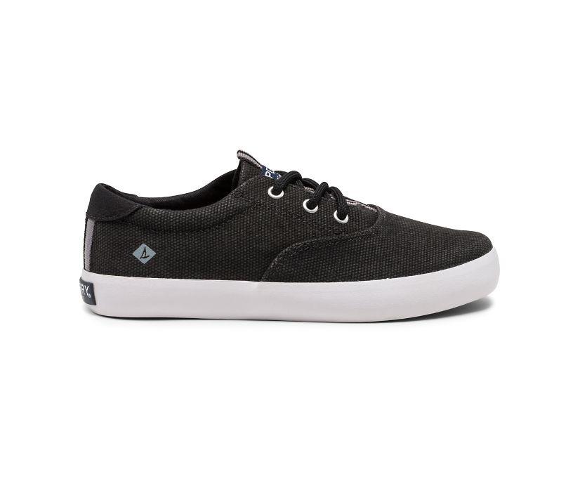 Spinnaker Washable Sneaker, Black, dynamic
