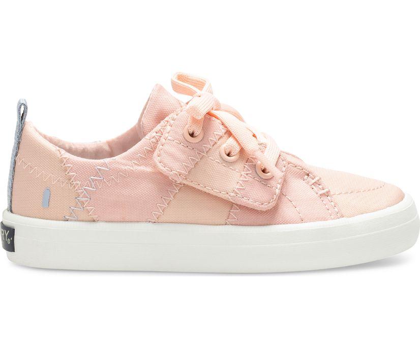 Crest Vibe Junior BIONIC® Sneaker, Pink/Blue, dynamic