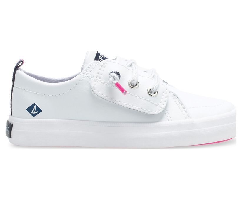 Crest Vibe Junior Sneaker, White, dynamic