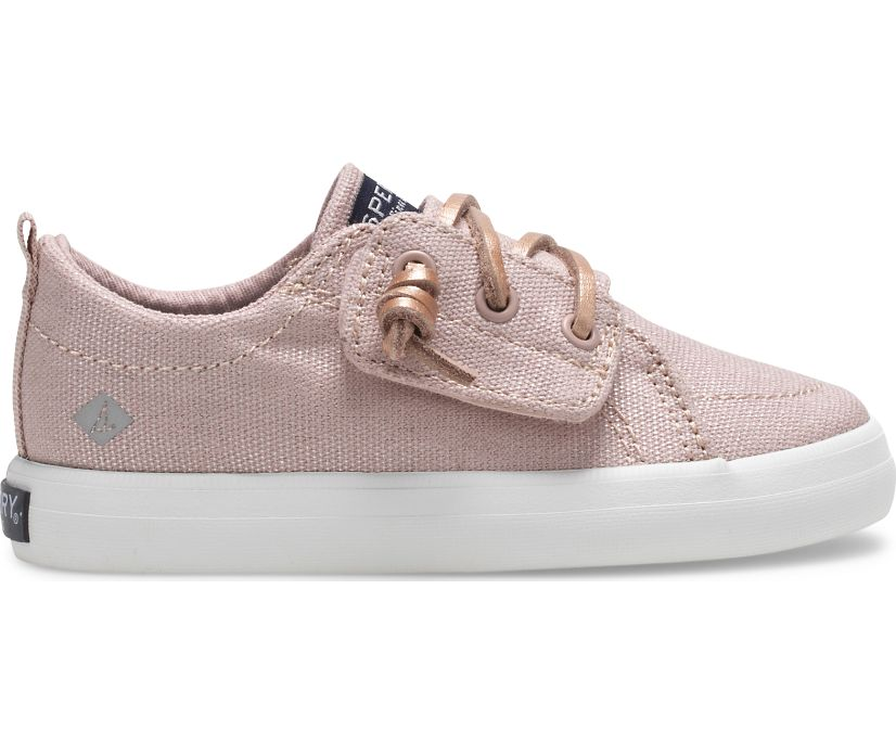 Crest Vibe Junior Sneaker, Misty Rose, dynamic