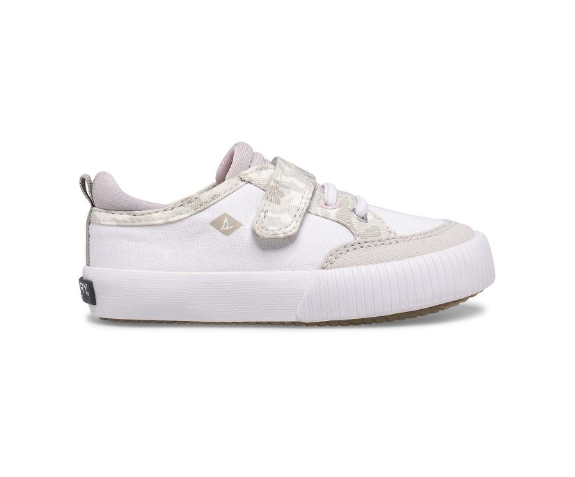 Covetide Junior Washable Sneaker, White/Camo, dynamic