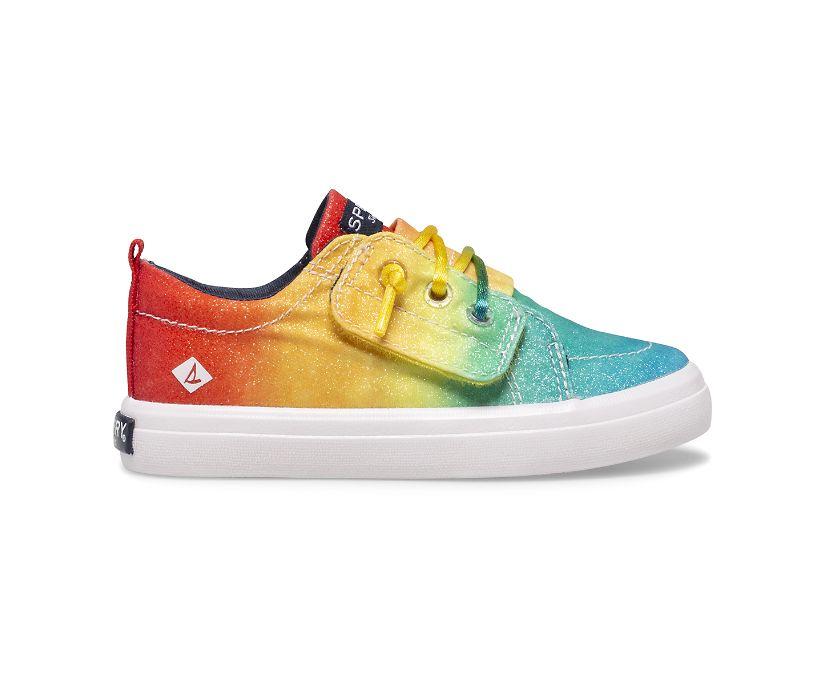Crest Vibe Rainbow Ice Cream Sneaker, Rainbow, dynamic