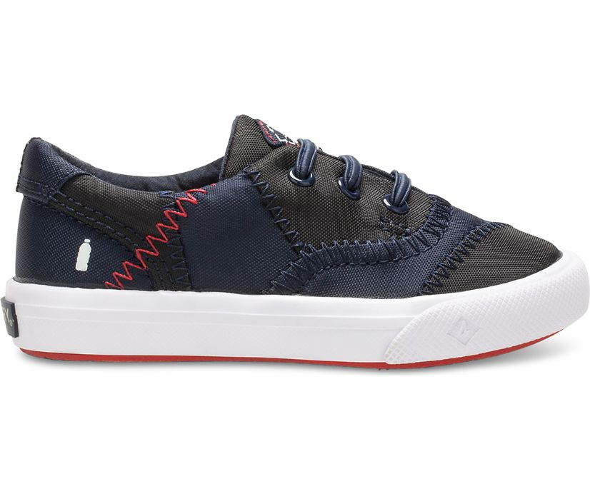 Striper II CVO Junior BIONIC® Sneaker, Navy/White, dynamic