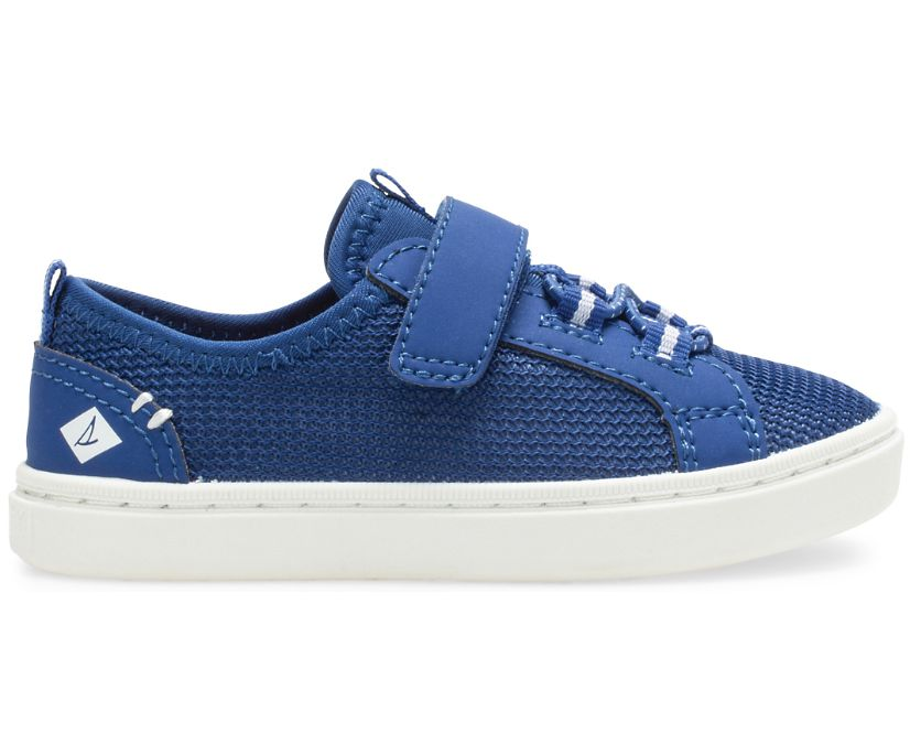 Abyss Hook & Loop Washable Sneaker, Blue, dynamic